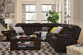 Living Room Furniture-The Remington Collection-Remington 7 Pc. Power Reclining Sectional