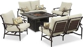 [Hatteras 5 Pc. Outdoor Living Room]