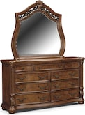 Bedroom Furniture-Saltonstall Dresser & Mirror