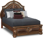 Bedroom Furniture-Saltonstall King Bed