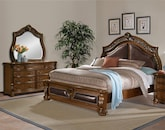 Bedroom Furniture-Saltonstall 5 Pc. Queen Bedroom