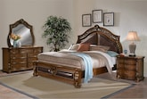 Bedroom Furniture-Saltonstall 6 Pc. King Bedroom