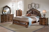 Bedroom Furniture-The Saltonstall Collection-Saltonstall Queen Bed