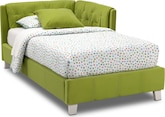 [Jordan II Twin Corner Bed]