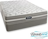 [Wesley Extra Firm King Mattress/Split Low-Profile Foundation Set]