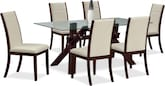 Dining Room Furniture-Vero Lorraine 7 Pc. Dinette