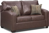 Living Room Furniture-Benning Twin Memory Foam Sleeper Sofa