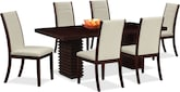 Dining Room Furniture-Costa Lorraine 7 Pc. Dinette