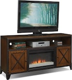 Entertainment Furniture-Erie Fireplace TV Stand