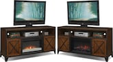 Entertainment Furniture-The Erie Collection-Erie Fireplace TV Stand