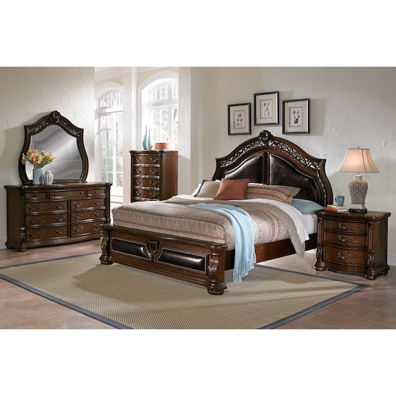 american signature furniture morocco bedroom collection