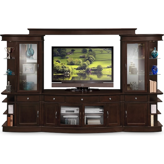 Urban Manor Entertainment Wall Units Collection Value City Furniture