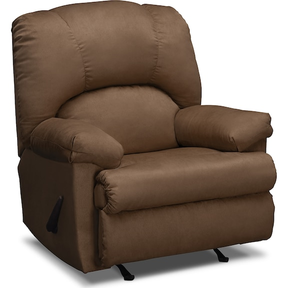 Living Room Furniture Quincy Rocker Recliner