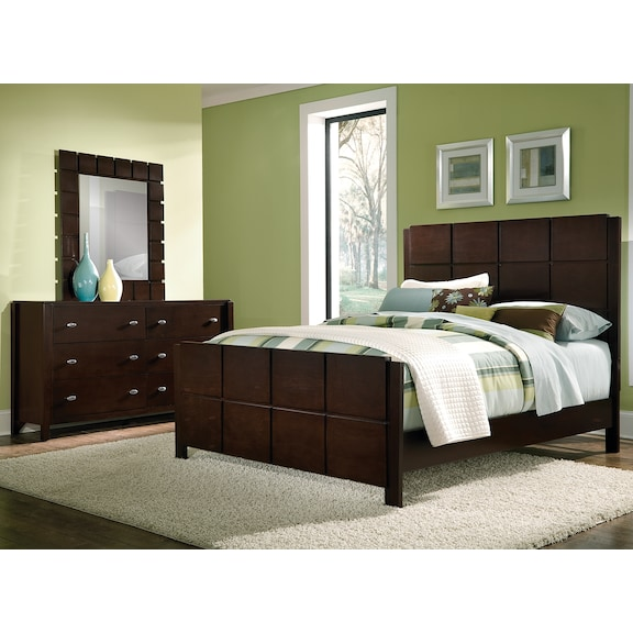 Bedroom Furniture Mosaic 5 Pc King Bedroom