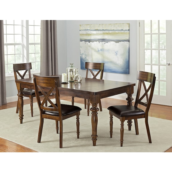 alamo dining room collection value city furniture