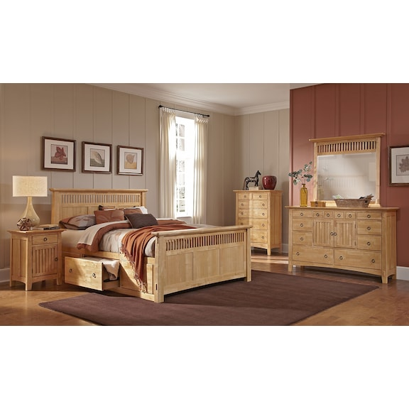 Furniture Bedroom Set American Signature Arts And Crafts Bedroom