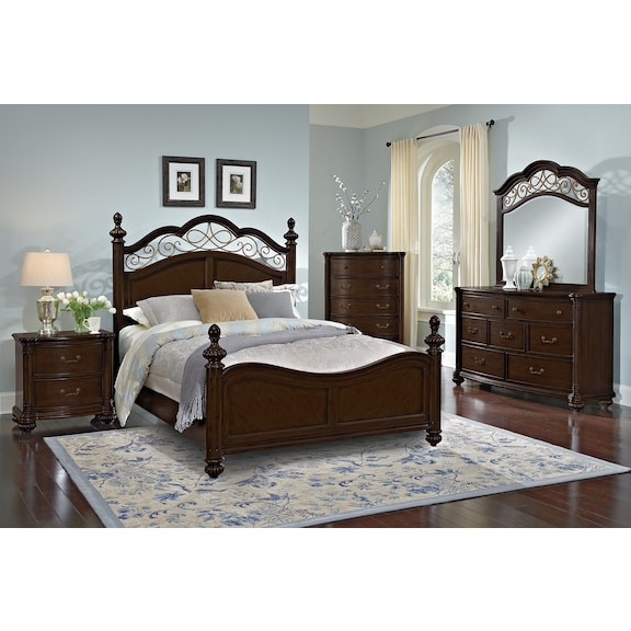 american signature furniture derbyshire bedroom collection