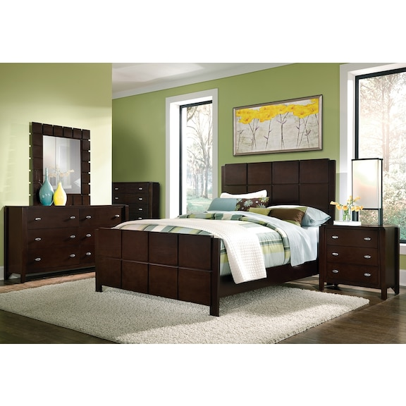 american signature furniture mosaic bedroom collection