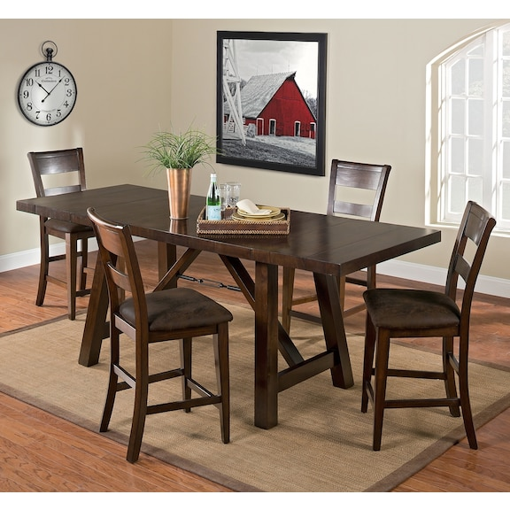 everett dining room collection value city furniture