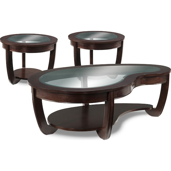 And Occasional Furniture Kitson Coffee Table Two End Tables Set