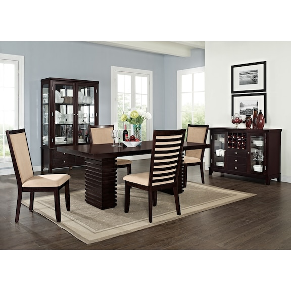 American Signature Furniture Paragon Dining Room Collection