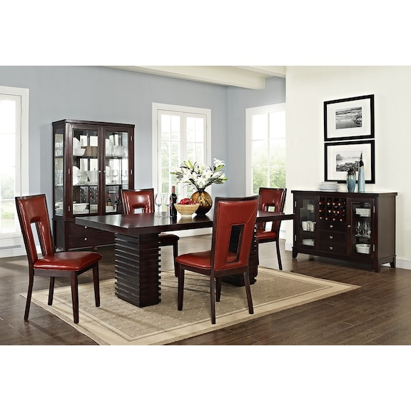 paragon madera dining room collection value city furniture