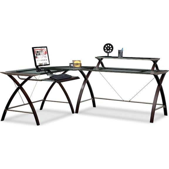 Orion home office collection value city furniture - Value city office desk ...