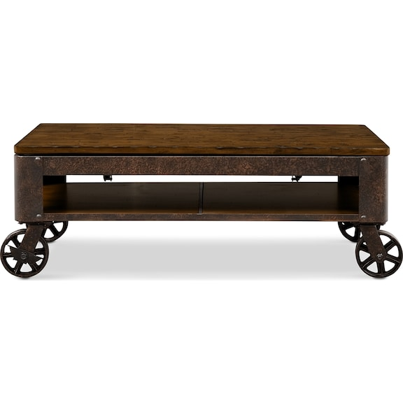 Accent and occasional furniture shortline lift top for Coffee tables value city furniture