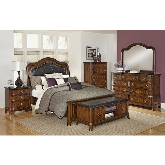 kingston bedroom collection value city furniture