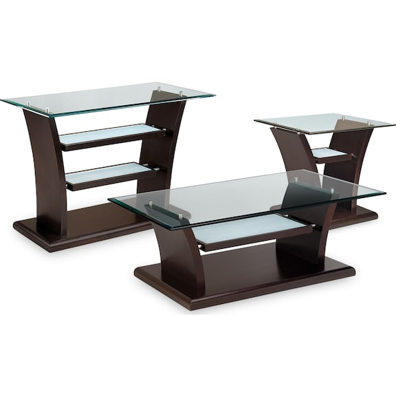 Bell Aer Occasional Tables Collection Value City Furniture