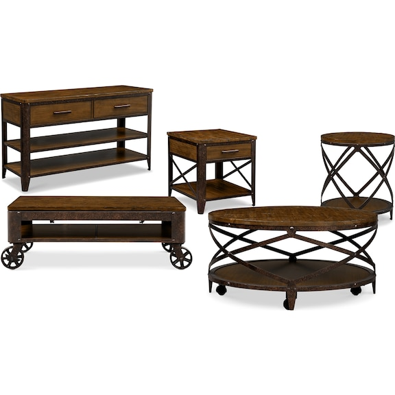 Shortline Occasional Tables Collection Value City Furniture : 296897 from valuecityfurniture.com size 576 x 455 jpeg 105kB