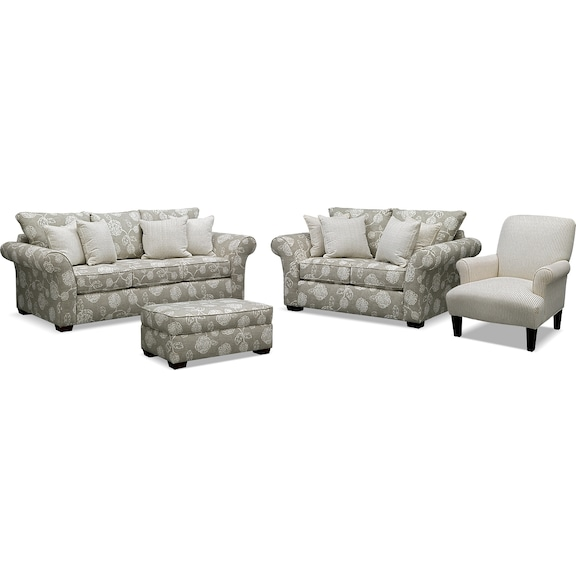 American Signature Furniture Adele Upholstery Collection