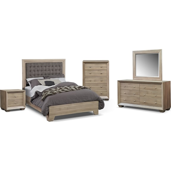 american signature furniture siena bedroom collection