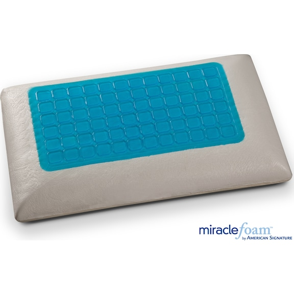 Mattresses and Bedding - Gel Memory Foam Gel Traditional Pillow