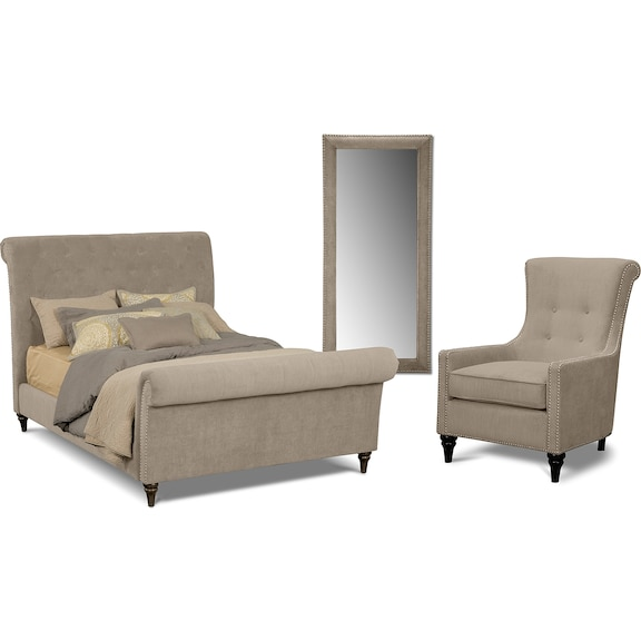 American Signature Furniture Camelot Bedroom Collection