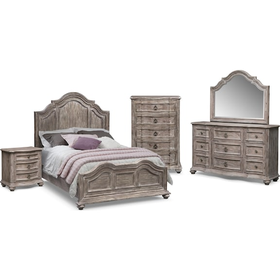 american signature furniture ashworth ii bedroom collection