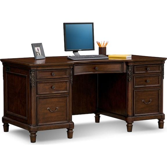 Home office furniture ashland executive desk - Value city office desk ...