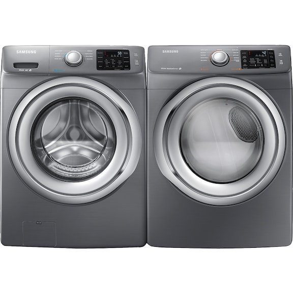 Washers and dryers samsung 4 8 cu ft front load washer - Secadora y lavadora juntas ...