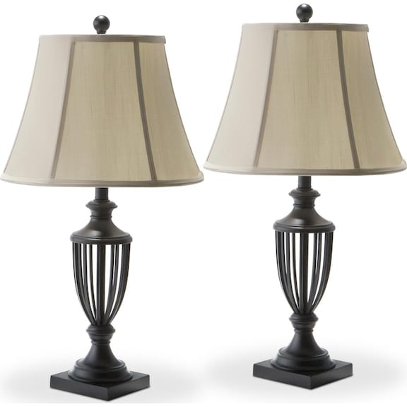 Home Accessories Mason 2 Pack Table Lamps