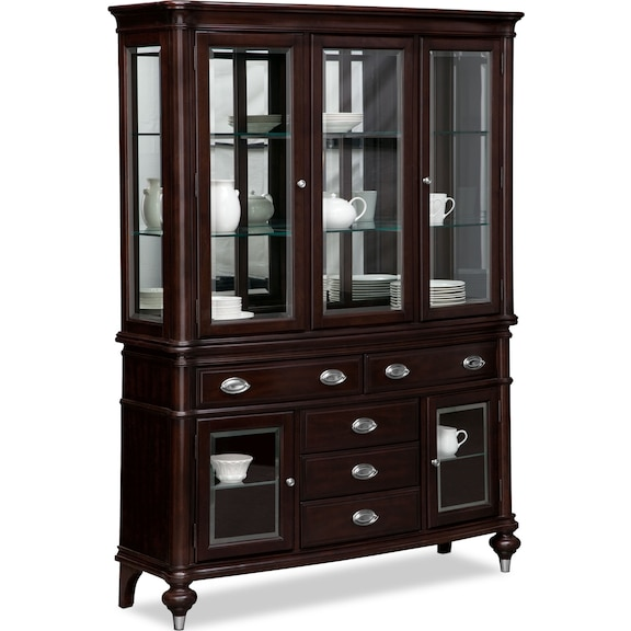 Dining Room Furniture Esquire Buffet And Hutch