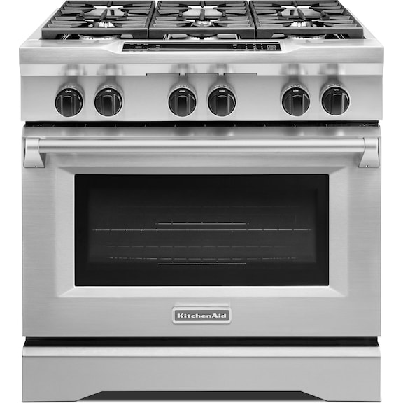 Kitchenaid dual fuel range kdrs467vss - Kitchenaid inch dual fuel range ...