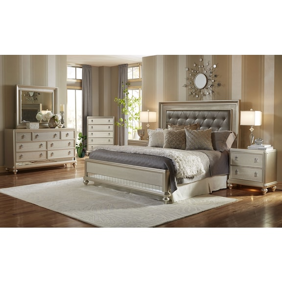 Diva 7-Piece King Bedroom Package