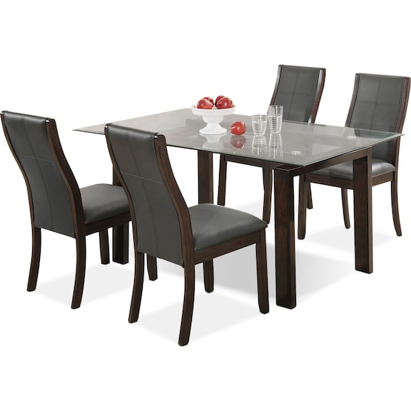 Tyler 5 piece dining package the brick - The brick dining room sets ...