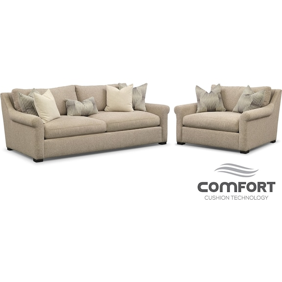 The Robertson Comfort Living Room Collection Value City Furniture