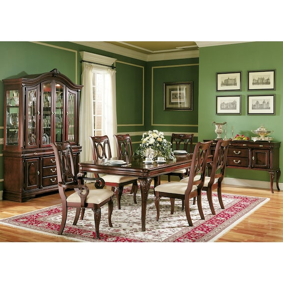 Sears dining room chairs chair pads cushions for Sears dining room sets